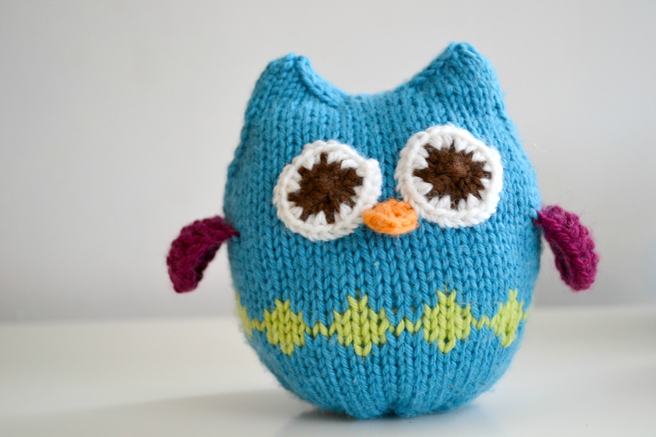 Disney Knitting Patterns Free : Squish Owls Pattern - aknitica