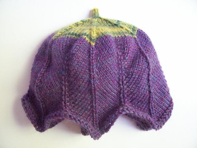 Preemie Knit Patterns : Tulip Preemie Hat Pattern - aknitica