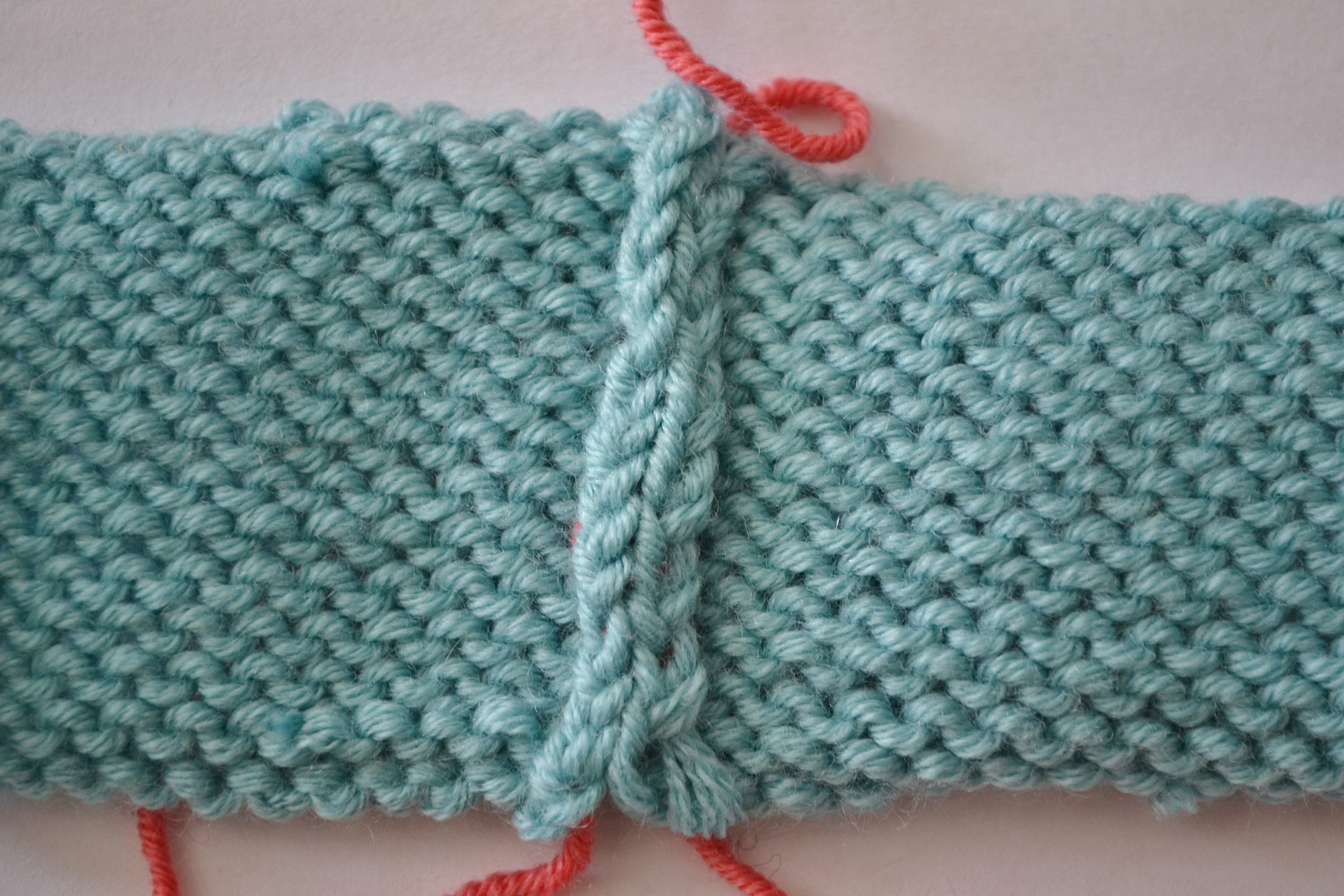 Mattress Stitch For Joining Knitting : How to Sew Invisible Vertical Seams in Knitting with Mattress Stitch aknitica