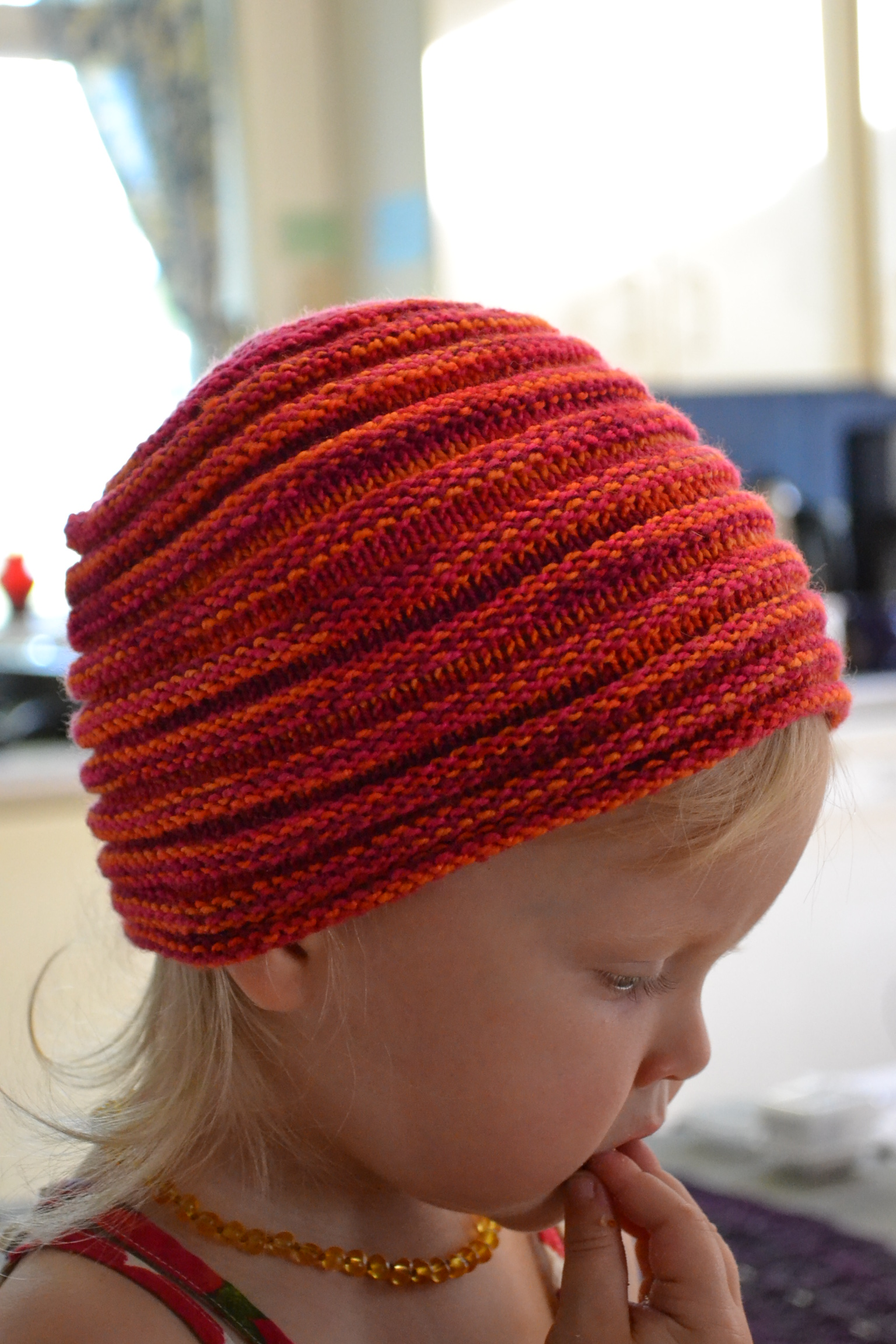 Free Knitting Pattern For Doll Hat : Impunity Hat Pattern - aknitica