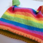 Knotty Baby Hat