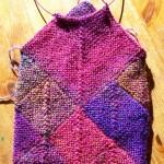 Kindle Cover, Sock-Yarn Blankie Style