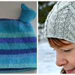 Knotty Baby Hat and Merrick Cabled Hat are now on Knit Picks!